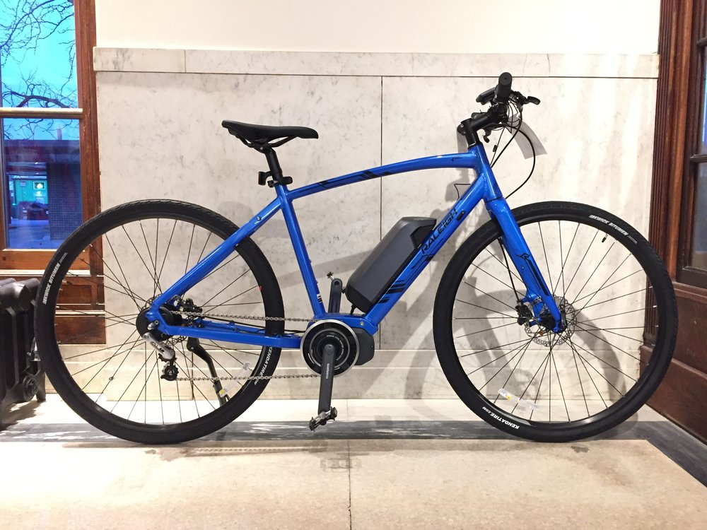 Raleigh Misceo IE | Electric Assist | Blue | Lg | Original $2699 | Now $2199