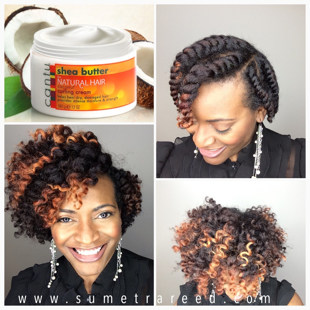 Curling Comb For Natural Hair