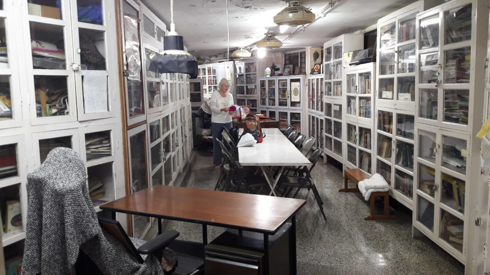 Library in RIMYI, Pune - Photo credit: Rachel Lovegrove