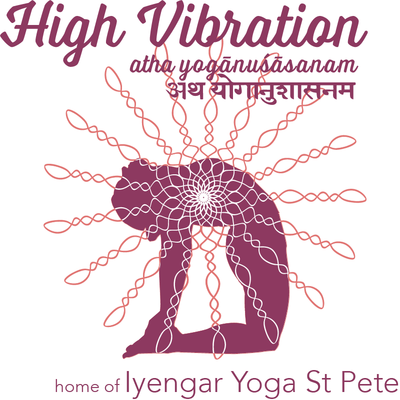 High Vibration: Home of Iyengar Yoga St Pete