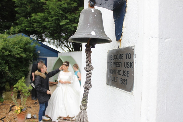 West Usk Lighthouse is a divinely romantic venue for your wedding (or a proposal!)