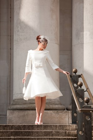 Aspen from 2011 is a gloriously chic coat dress... it's inspiration was my own wedding dress!