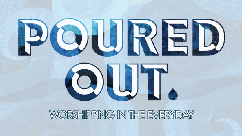 poured-out