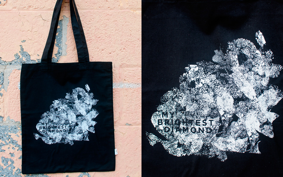 Tote bag for My Brightest Diamond