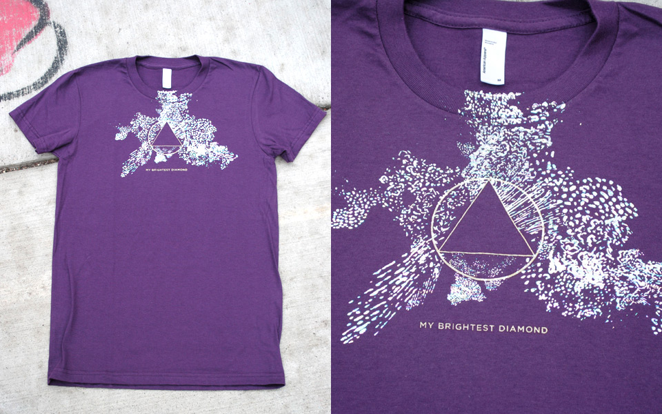 T-shirt for My Brightest Diamond