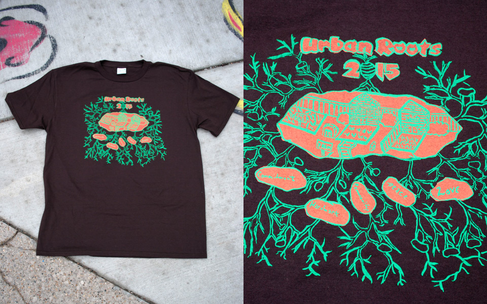 T-shirt for Urban Roots