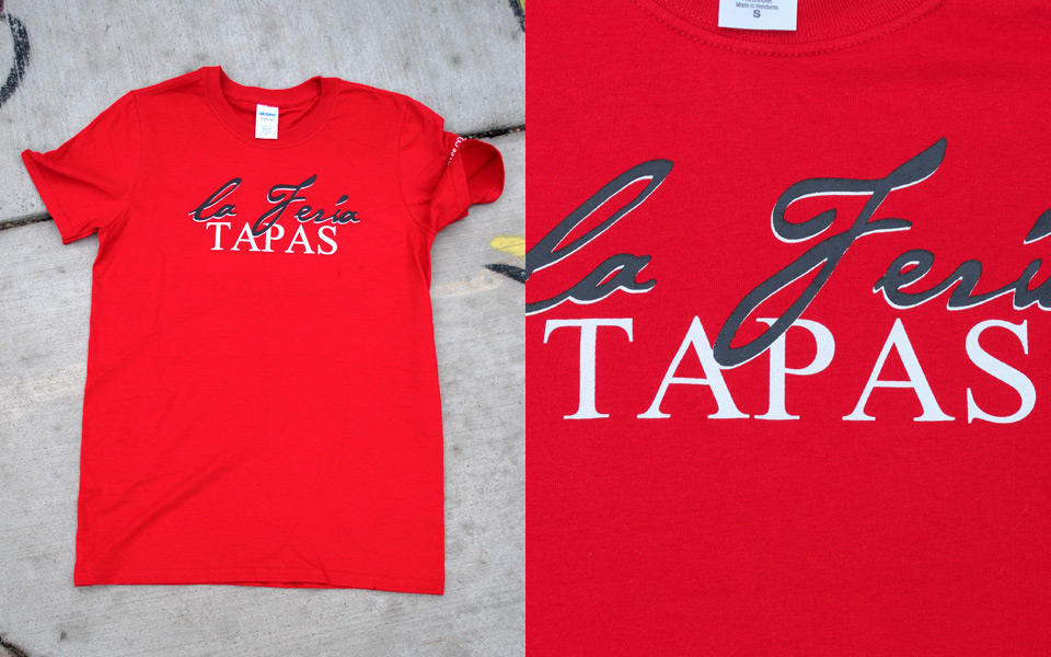 T-shirt for La Feria Tapas