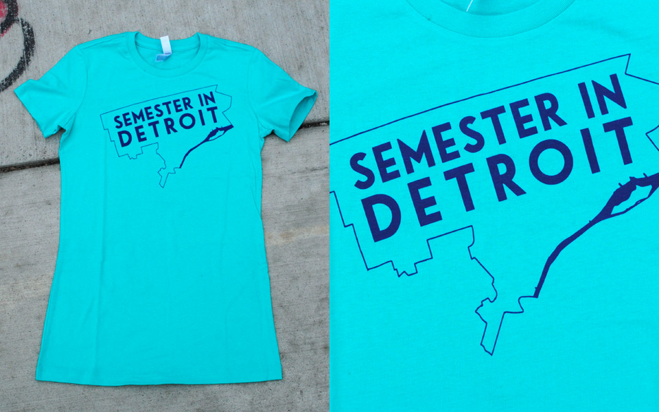 T-shirt for Semester in Detroit