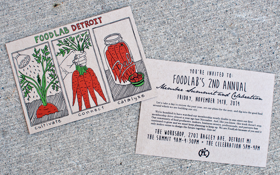 Invitations for FoodLab