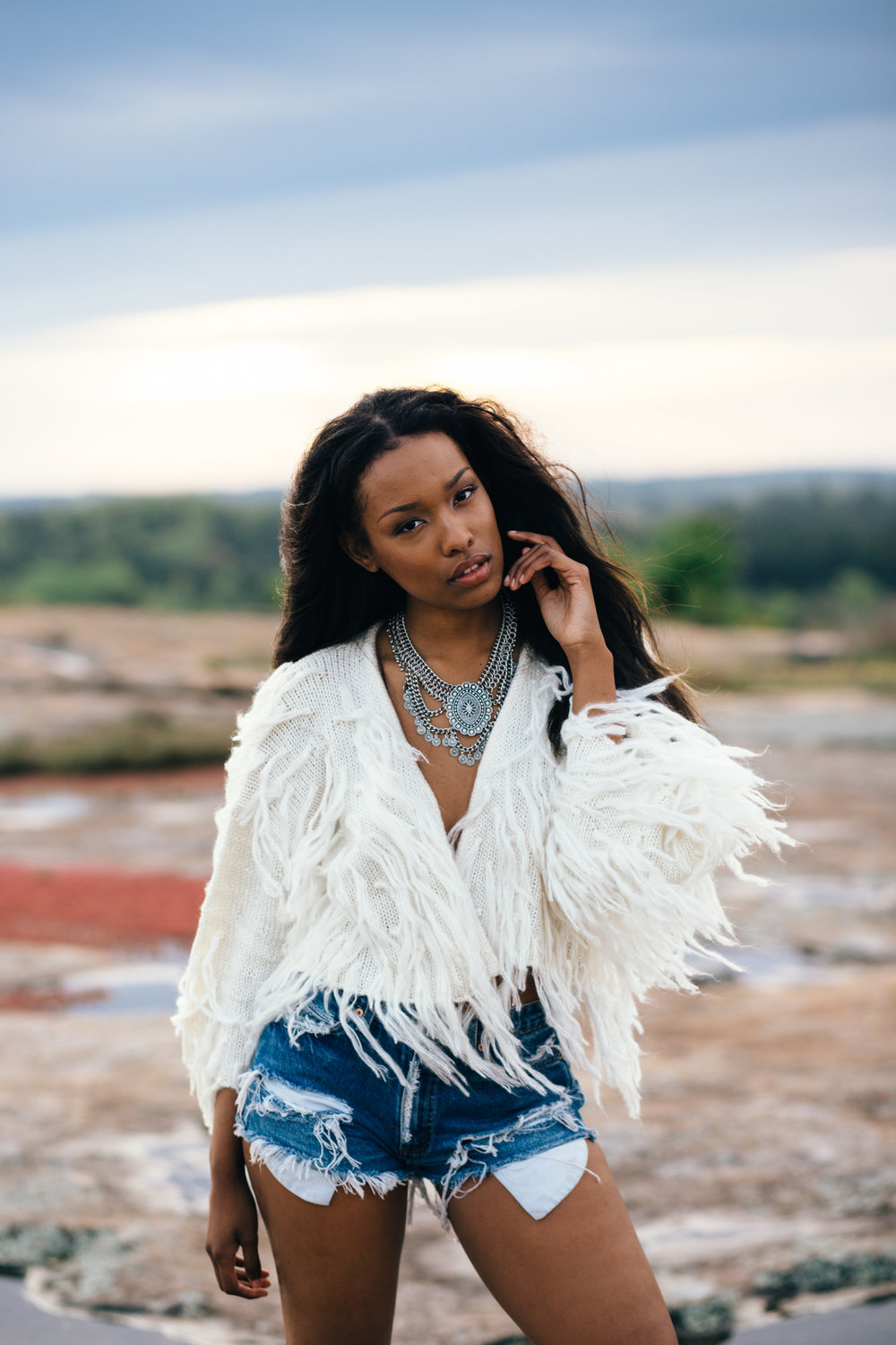 Wild Child Session: Arabia Mountain with Margaret Snider Makeup Artistry and Alex McClelland Photography