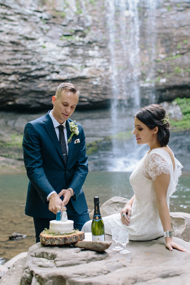 Cloudland Canyon Elopement