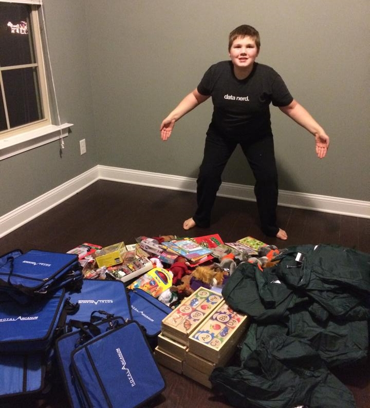 "Jacob's ""The Leukemia Slayer"" Toy Drive"