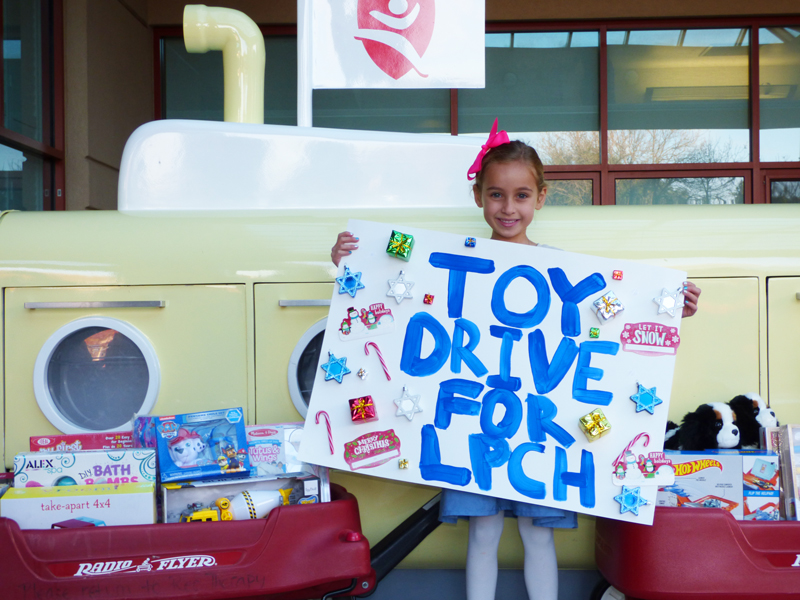 Stella's Holiday Toy Drive