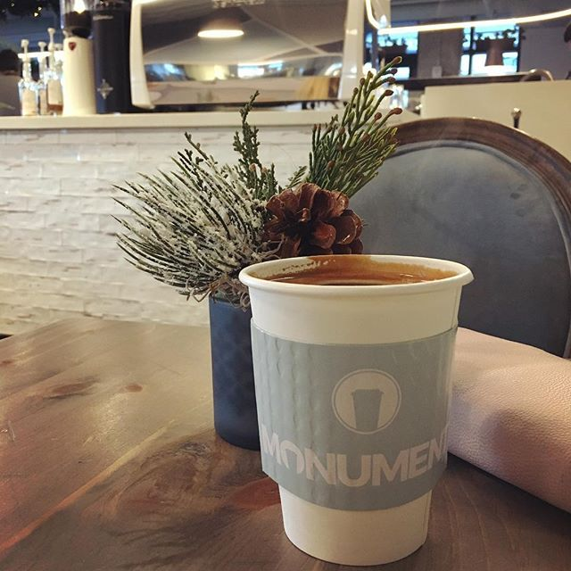 Have you checked out @monumentyeg yet? Finally made it down! Great space!  #yeg #yegcoffee #yegcafe #yegdt