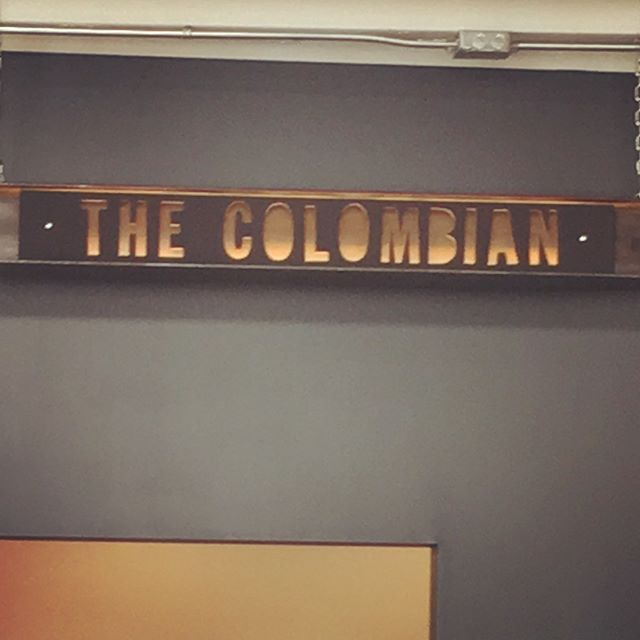 We made it out to @thecolombianyeg today!  Beautiful space! Great americanos!  #yegcoffee #yeg #yegdt #yegfood