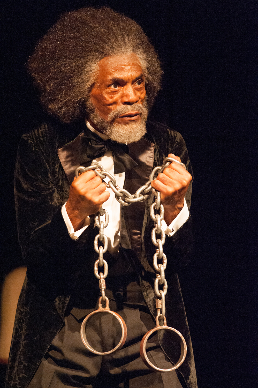 André De Shields as Frederick Douglas in Mine Eyes Have Seen the Glory.