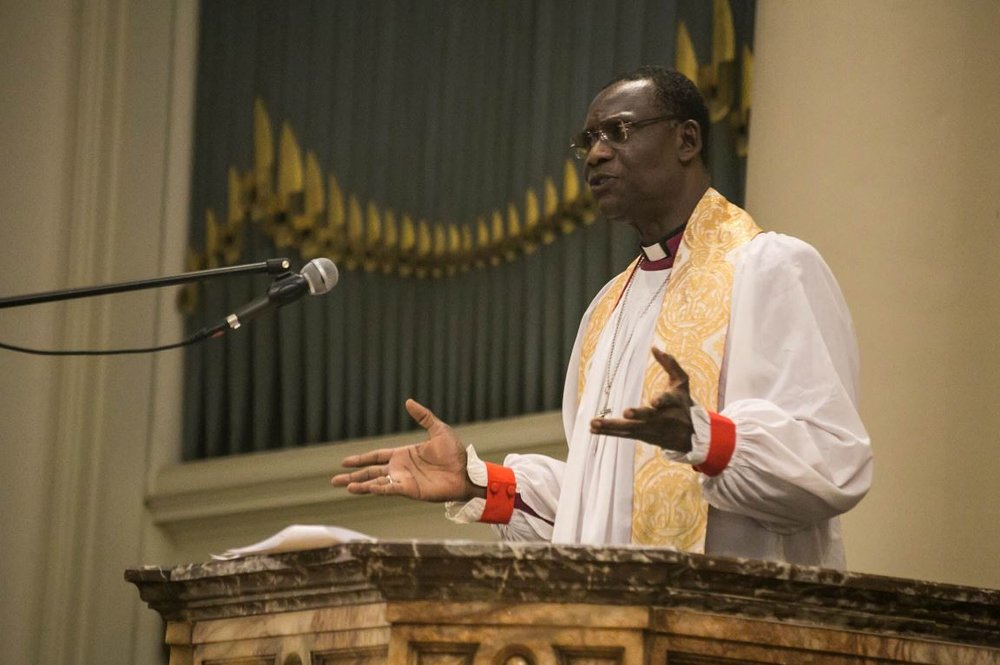 Secretary General of the Anglican Communion Visit to Fil Chap May 2016