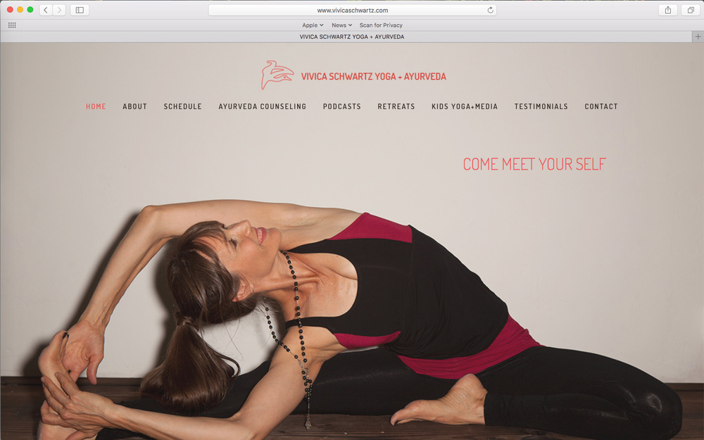 Vivica Schwartz Yoga + Ayurveda