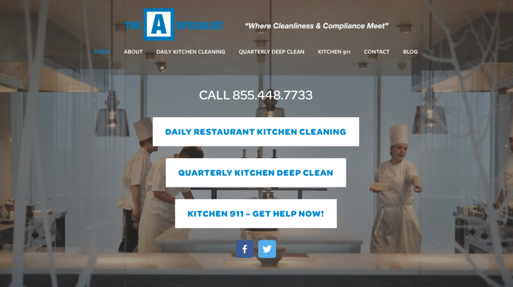 Copy of Copy of The A Specialist / Commercial Kitchen Cleaning