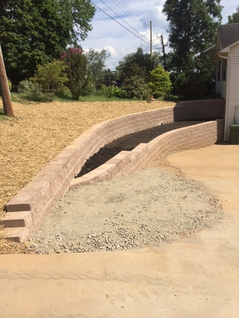 hardscapes retaining wall
