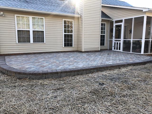 hardscapes paver patio