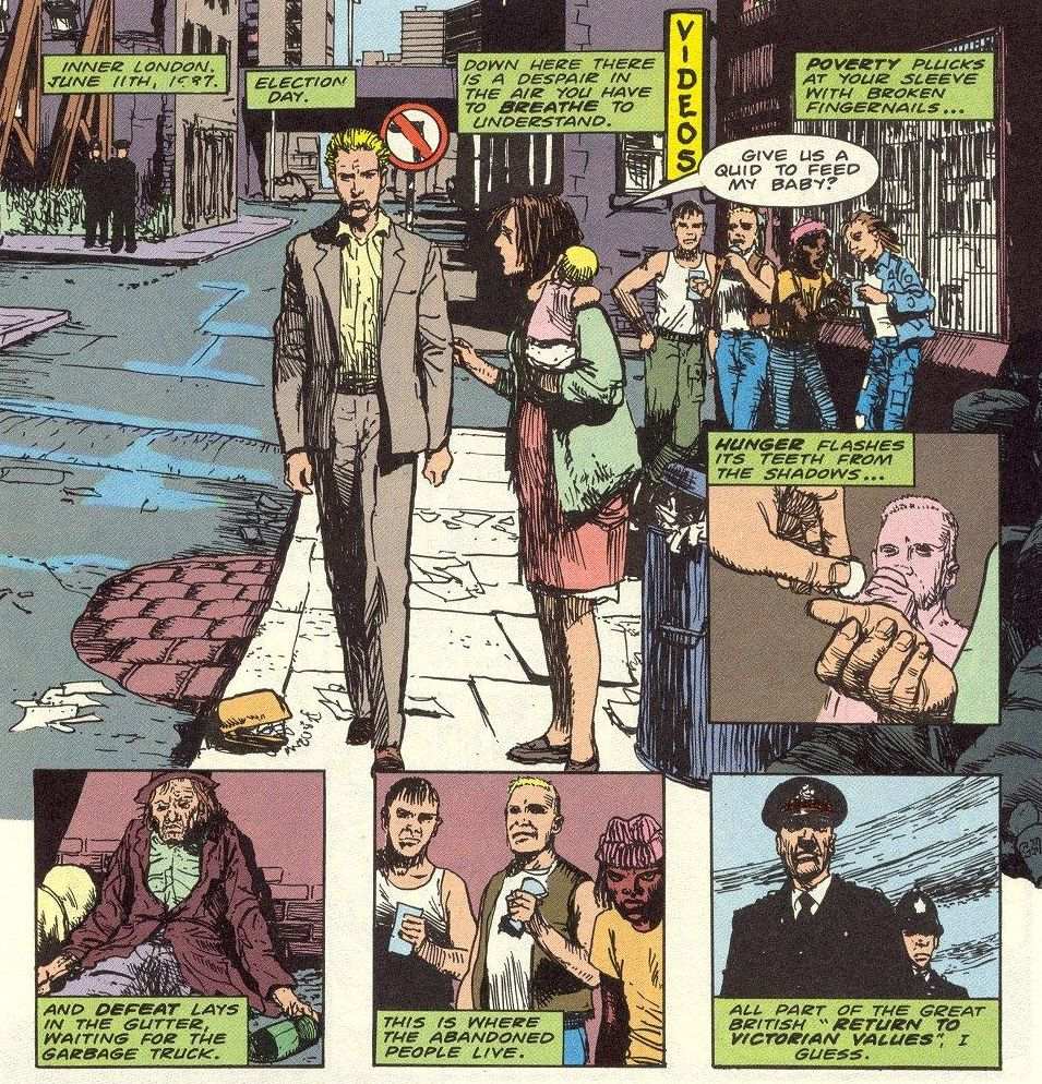 Hellblazer #3 by Jamie Delano and John Ridgway
