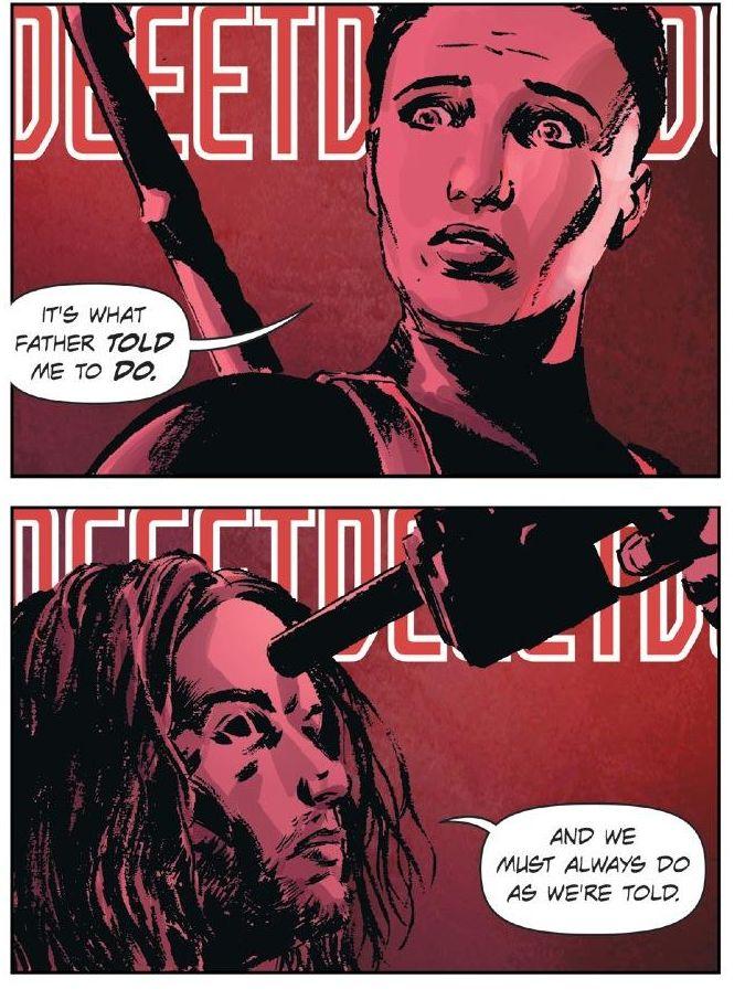 Lazarus #14 (Greg Rucka, Michael Lark)