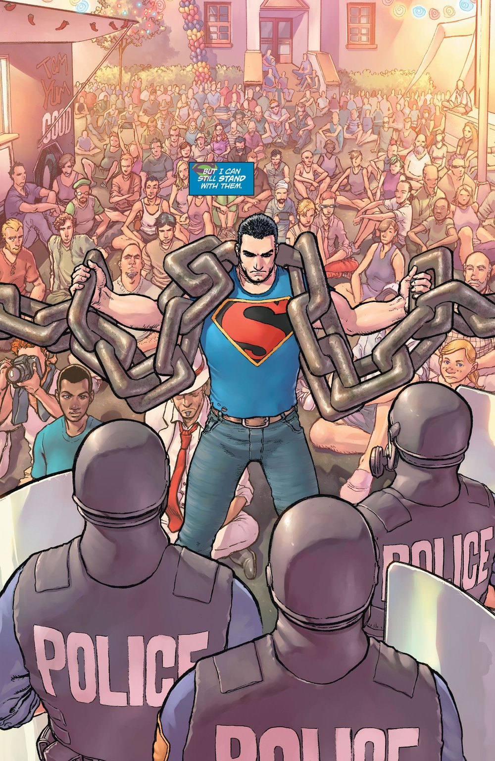 Action Comics #42 by Greg Pak and Aaron Kuder (2015)