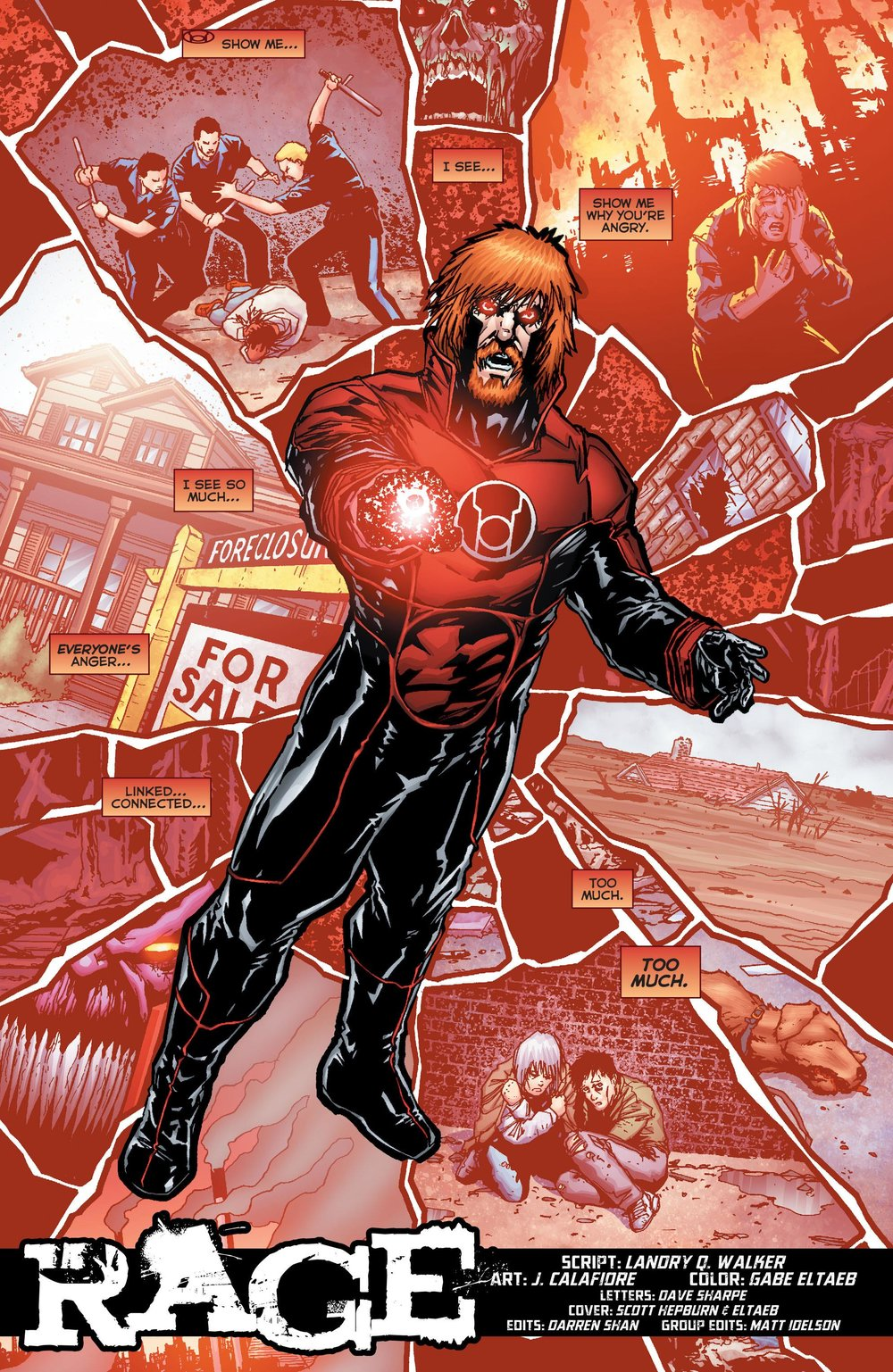 Red Lanterns #38 by Landry Q. Walker and J. Calafiore (2015)