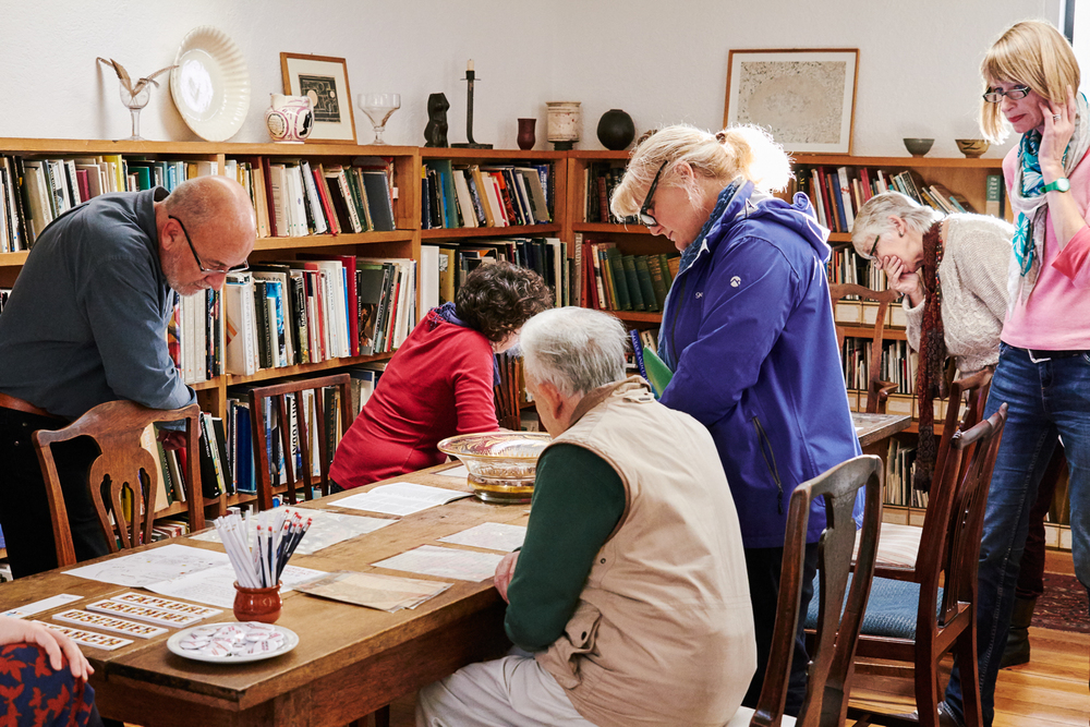 Castle Hill Open Day 2014: meet the archivist,  Kettle's Yard  house