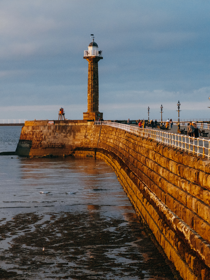 Whitby Lighthouse: my original