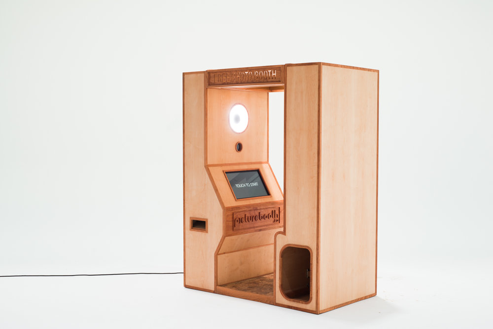 Wooden Photo Booth
