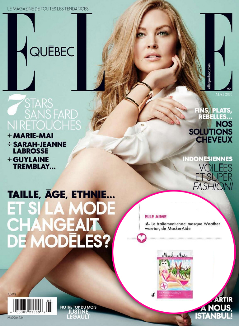 Copy of ELLE Quebec - May 2013 MaskerAide