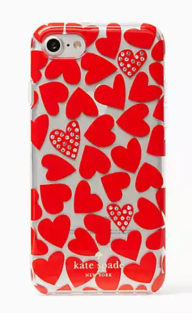 Kate Spade Scattered Hearts iPhone7 Case