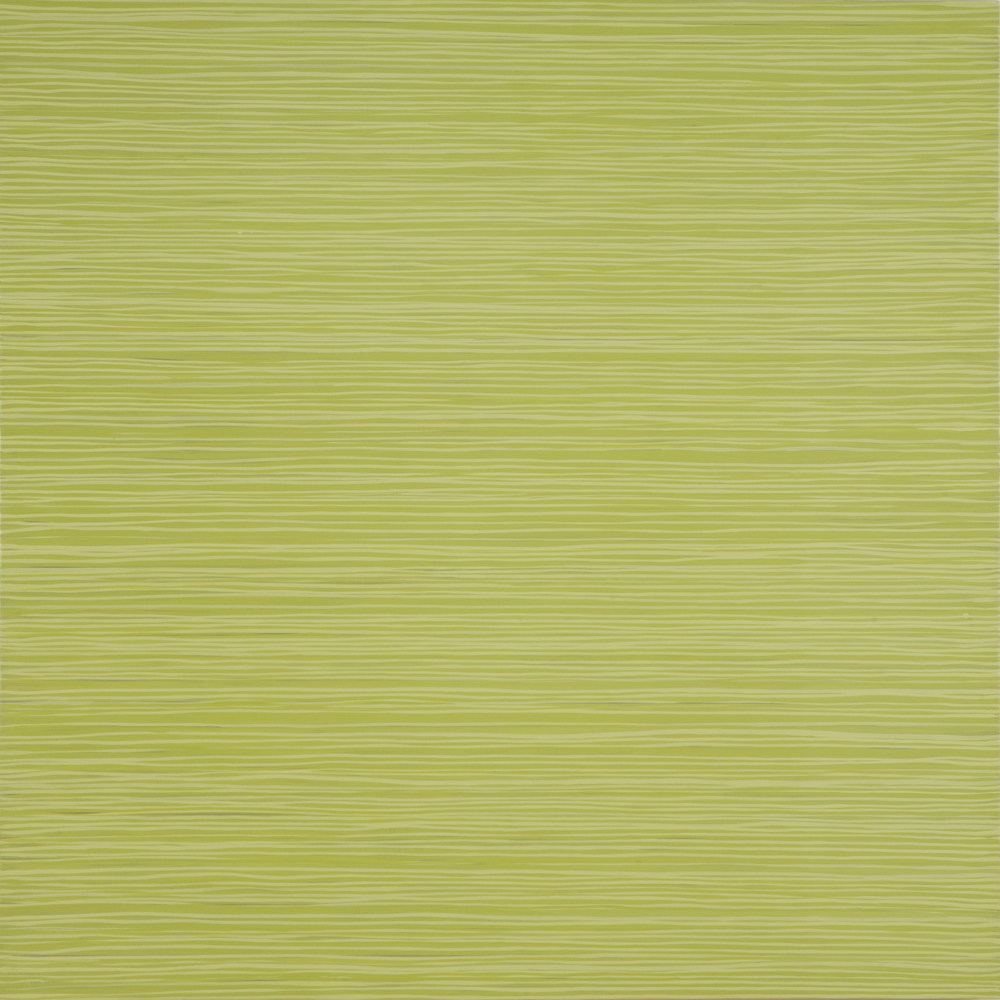 Green Triptych panel #1, 2014