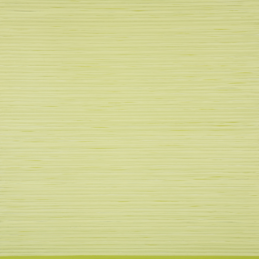 Green Triptych panel #2, 2014