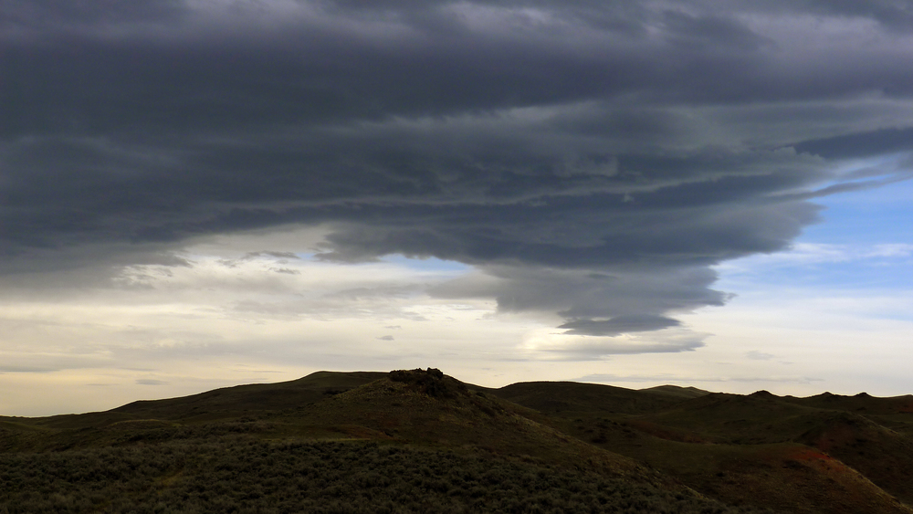 Wyoming stormclouds