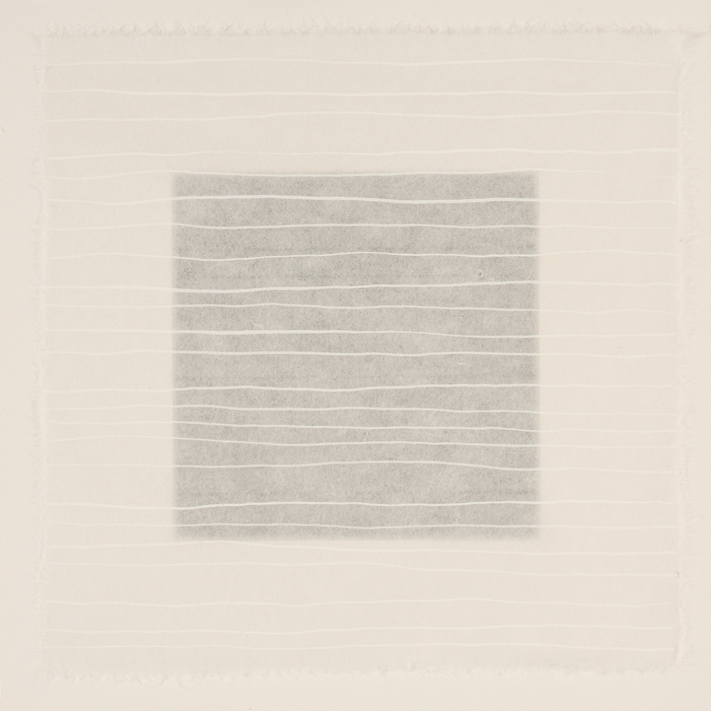 White #3 - rice paper grid 2011