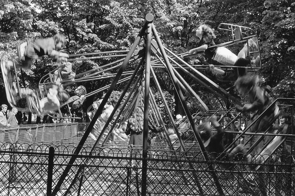 Swingset at the Luxembourg Gardens, Paris 1993