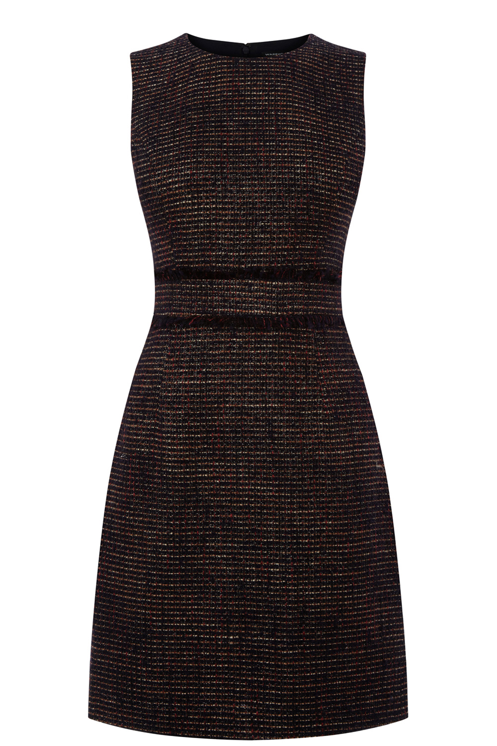 Waist Detail Tweed Shift Dress.jpg