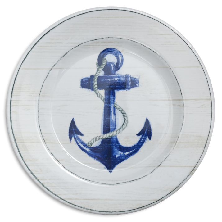 Anchor Melamine Salad Plate.jpeg