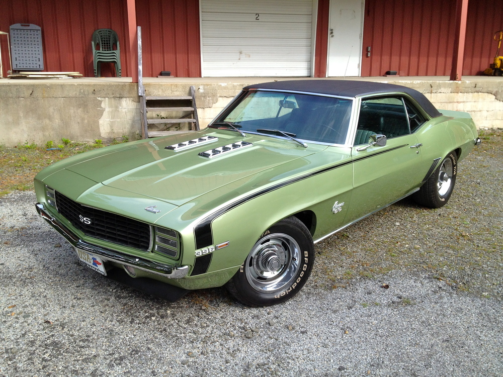 Cheap Cars For Sale In Nj >> 1969 Camaro RS/SS 396