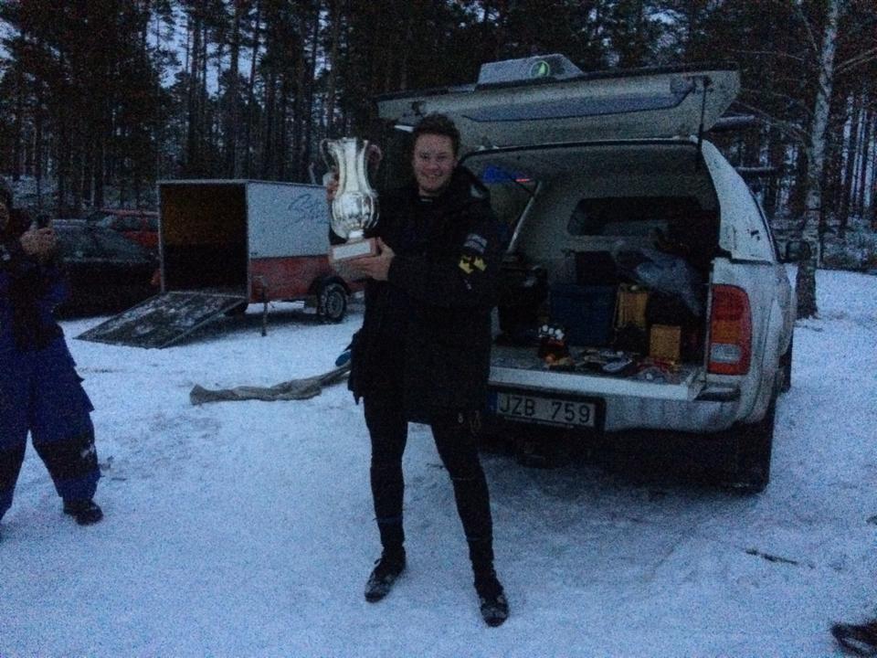 Svenska Mästaren Eddie Klemets