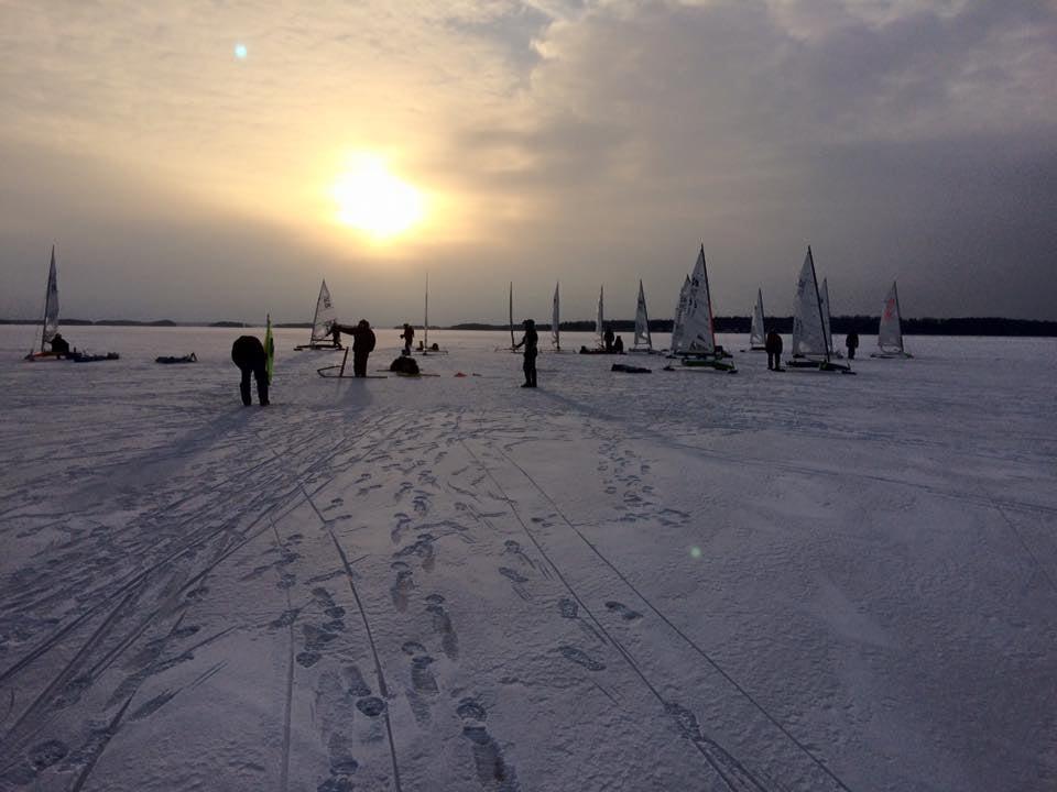 Kallt väder vid Olle Sneckers Minne