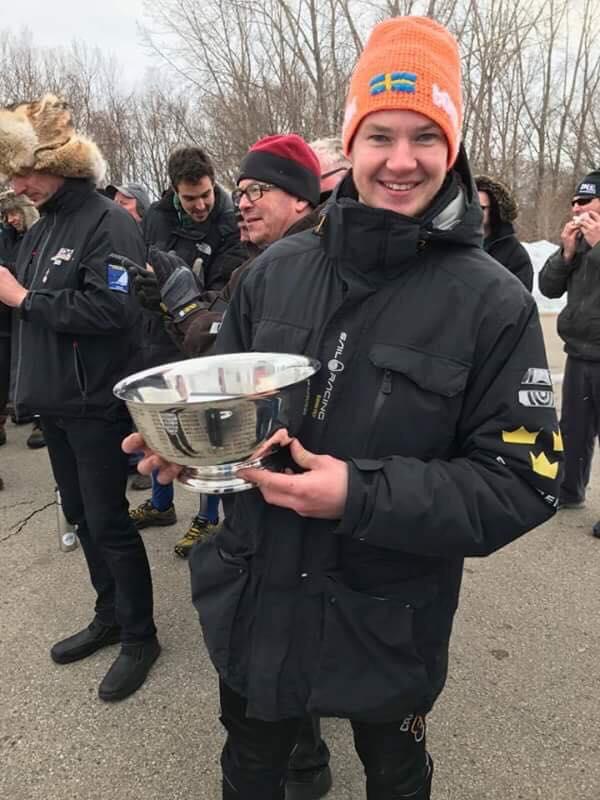 S-812 Eddie Klemets blev precis som vid VM bästa junior!