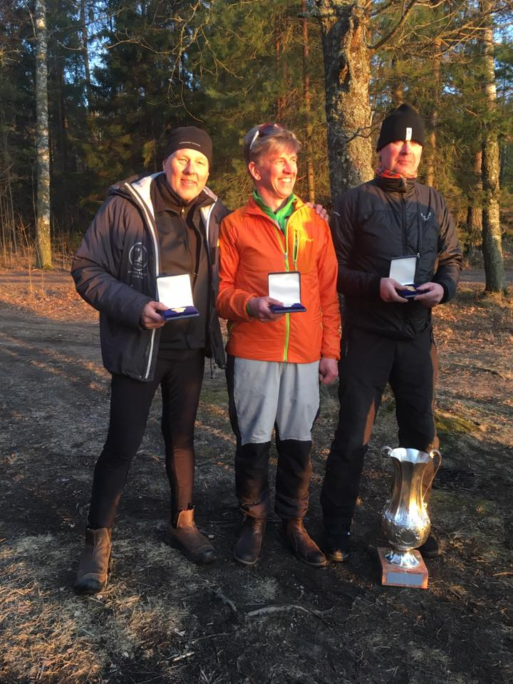 Left to right: Bronze S-713 Richard Gustring, Silver S-8 Fredrik Lönegren, Gold S-81 Tomas Lindgren