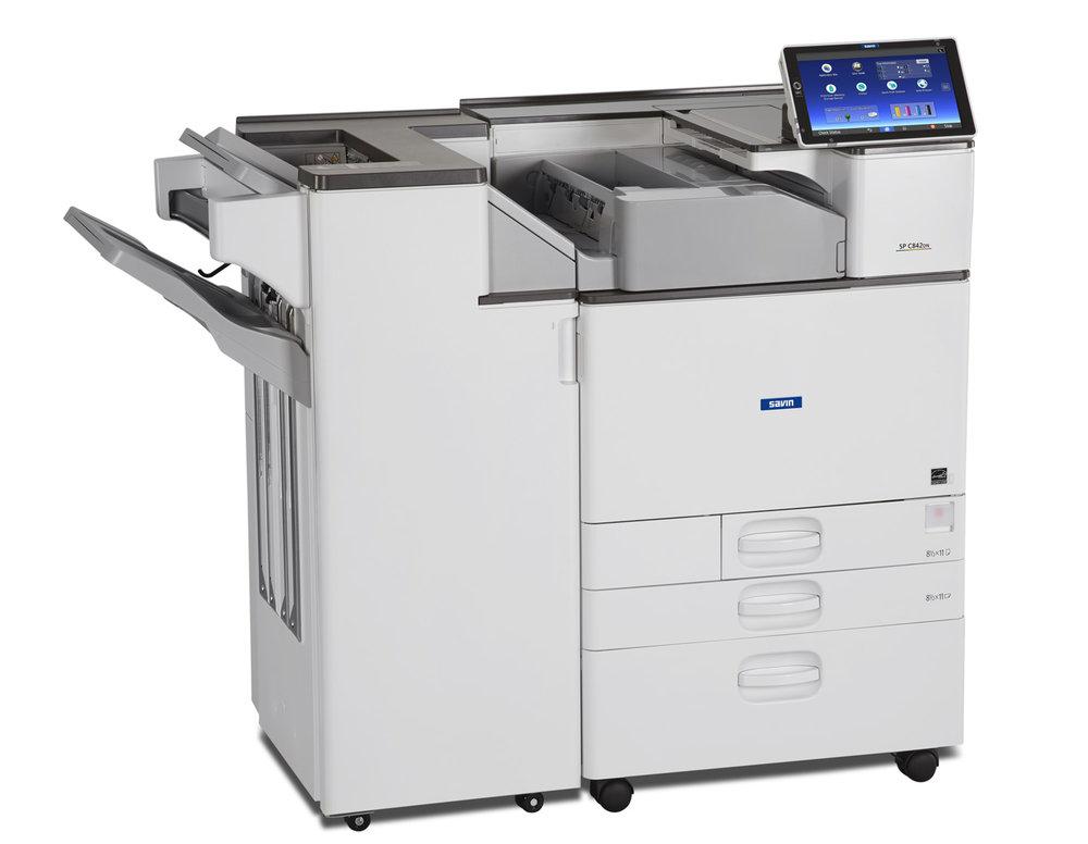 Savin SP C842DN Cabinet+FD3000+SR3230 Right.JPG