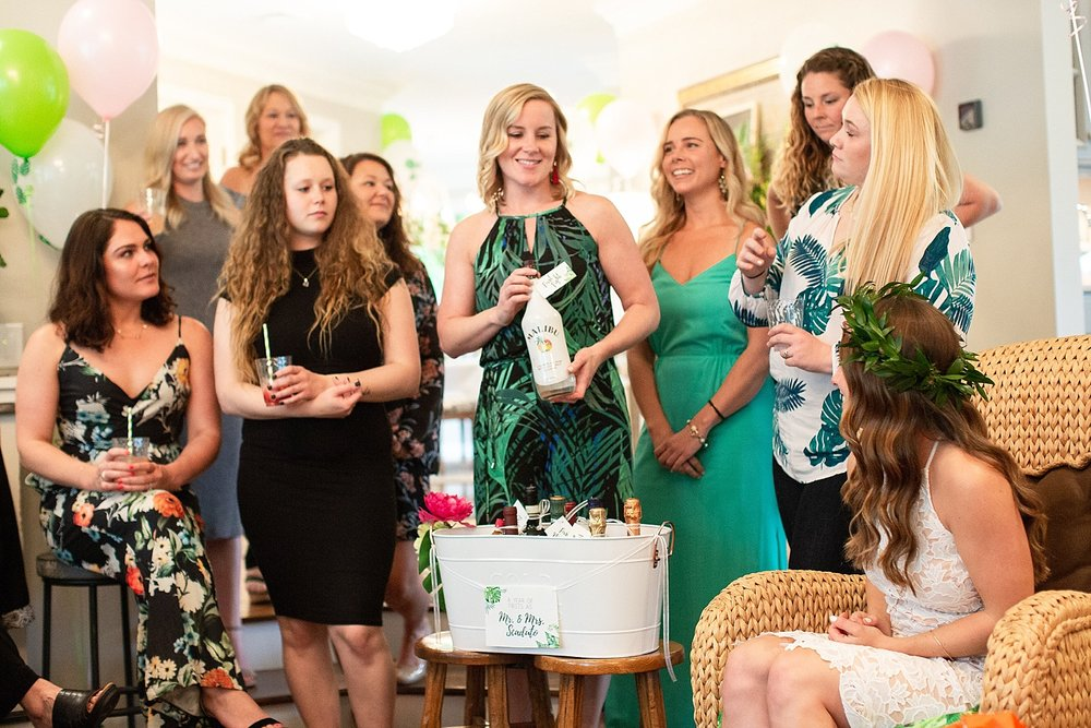 Ashley Mac Photographs | Tropical Inspired Bridal Shower | Ashley Mac Gets Married