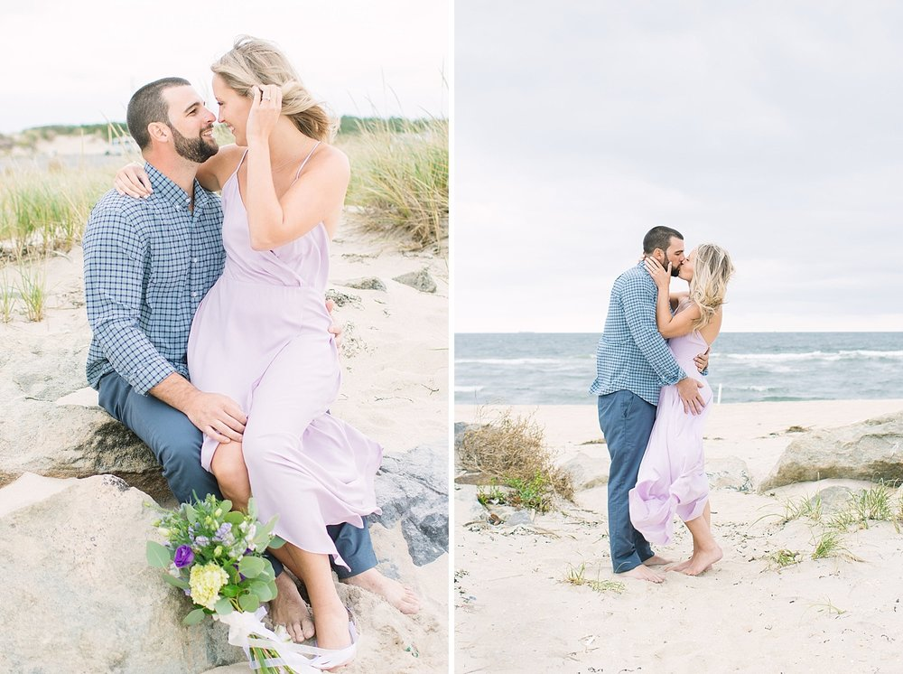Ashley Mac Photographs | NJ Wedding Photographer | NJ Engagement Photographer | Sandy Hook Beach Engagement Photographer | Destination Engagement and Wedding Photography | Sandy Hook NJ | Jersey Shore NJ Engagement Session