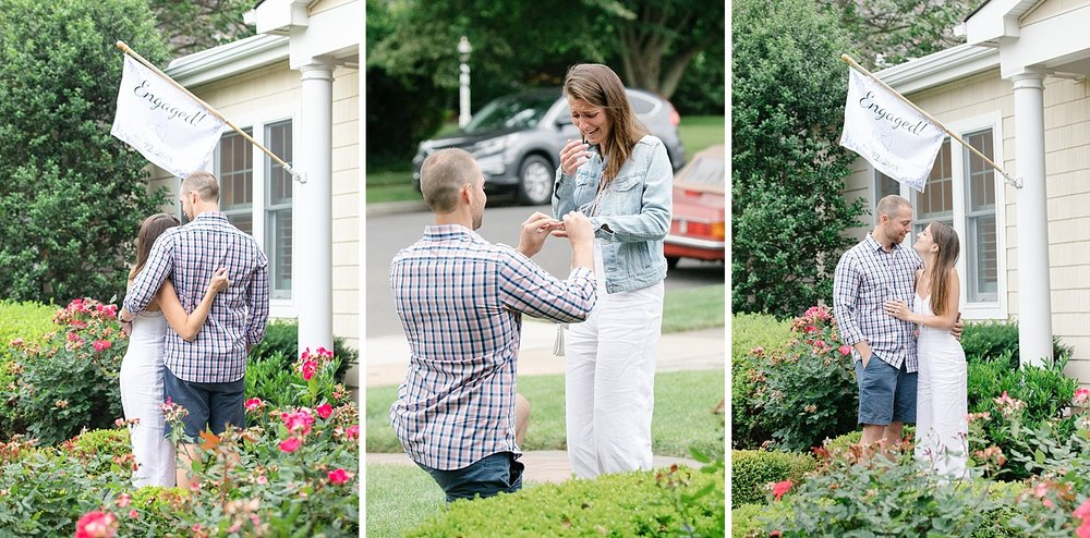 Ashley Mac Photographs captures surprise engagement in New Jersey